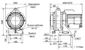 schema pompa vuoto 250