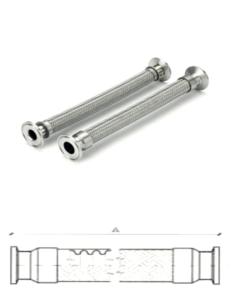 Tubi Flessibili Teflex Inox e Teflon con schema